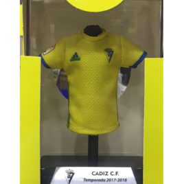 Mini camiseta Cádiz CF